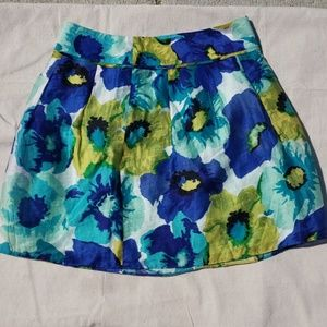 Colorful skirt by Loft. Size 4.